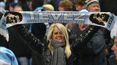 Manchester City – Tevez