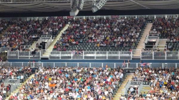 Empty Seats - Earls Court - Women's volleyball, London Olympics 3 Aug 2012